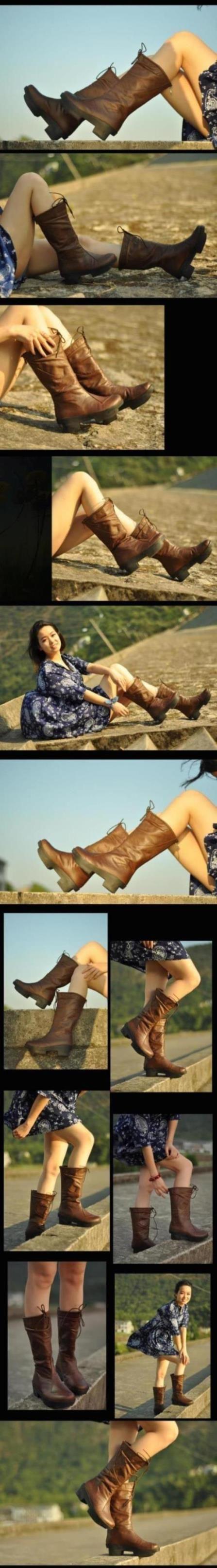 Aliexpress.com: Купить Pernycess ретро туфли на высоком каблуке сапоги густой водонепроницаемой ботинки красивая кожа женские сапоги рыцарь из Надежный сапоги бахромой голенищем поставщиков на Yangzhou Pernycess Garment Industry Co., Ltd