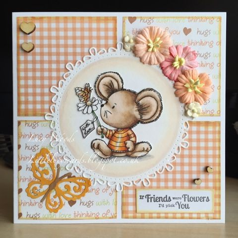 Little Lucy's Handmade Cards: Mouse with Love - Dis Digi Stamps