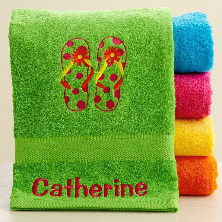 Personalized Towels: 36 Best Images About Beach & Nautical On Pinterest