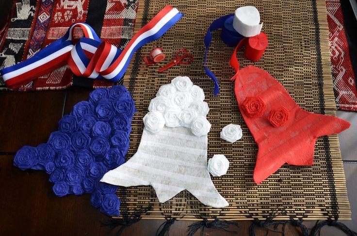 El 18 de Septiembre es una fecha importante para Chile, y es costumbre decorar la casa para la fiesta. En los supermercado se encuentran muchasopcionesl, como decoraciones ya hechas o material par…