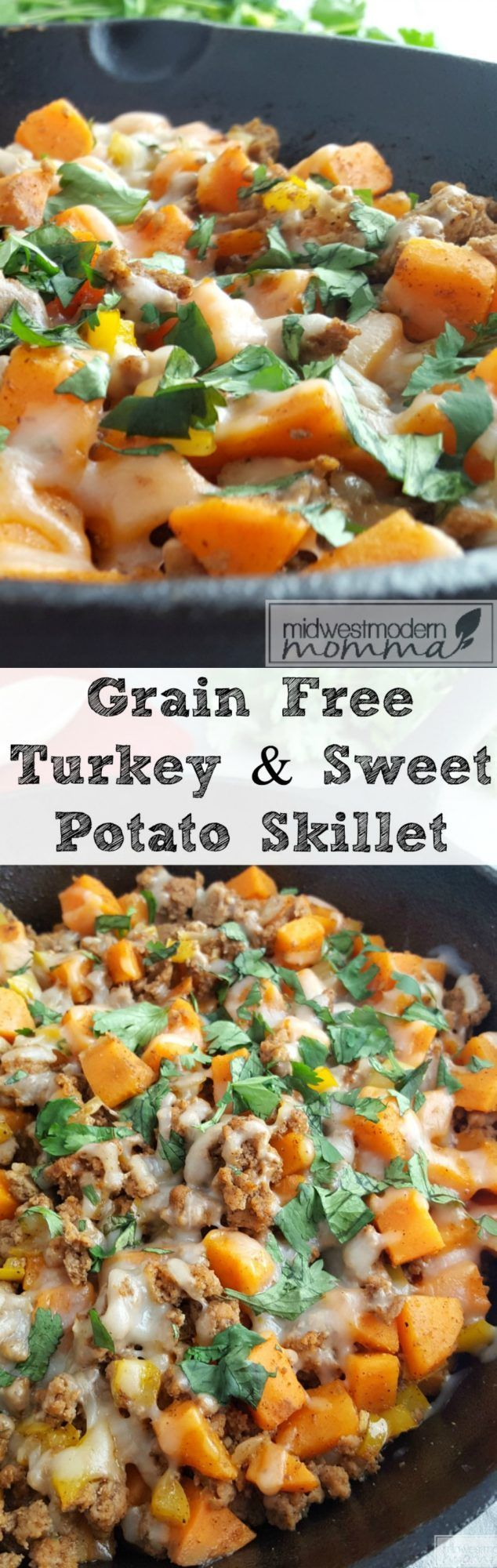 Eating healthy has never looked better than this delicious Paleo Ground Turkey Sweet Potato Hash recipe! Done in 30 minutes, this grain-free Taco Turkey & Sweet Potato Skillet will be a hit for everyone in your family to enjoy!
