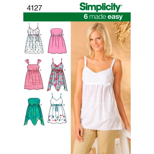 For sis...Simplicity Pattern-4127 6 to 14