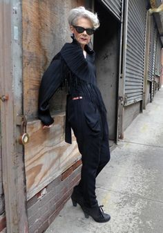 Fab 60+ blogger Lyn of Accidental Icon. Now on: Lady of Style. A Fashion Blog for Mature Women.