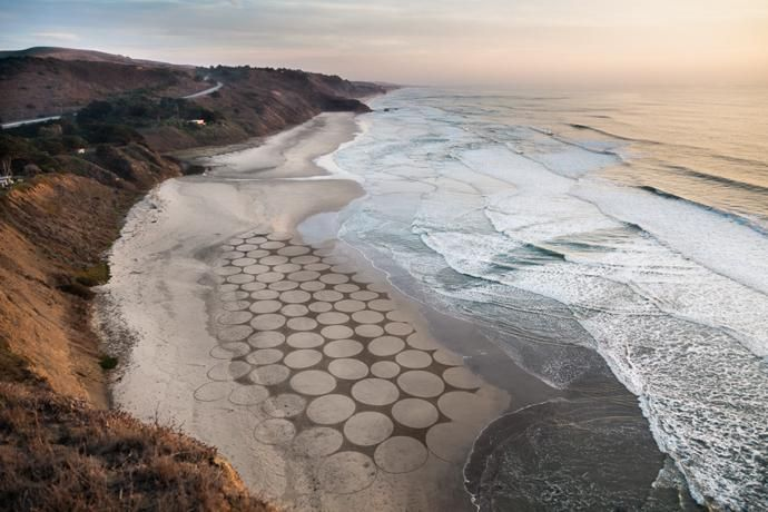 WATCH: Drawing In The Sand