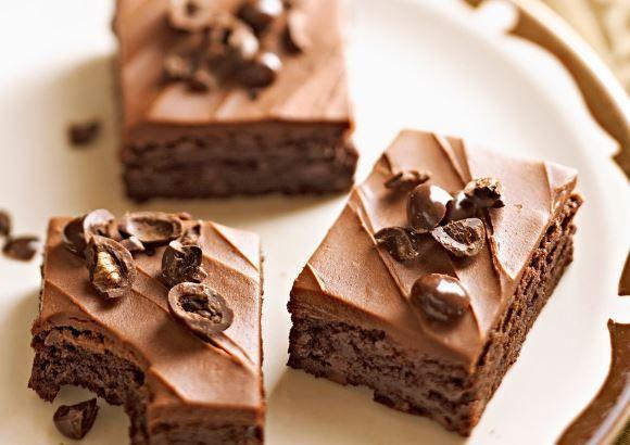 Υγρό+μπράουνις+σοκολάτας+με+άρωμα+καφέ