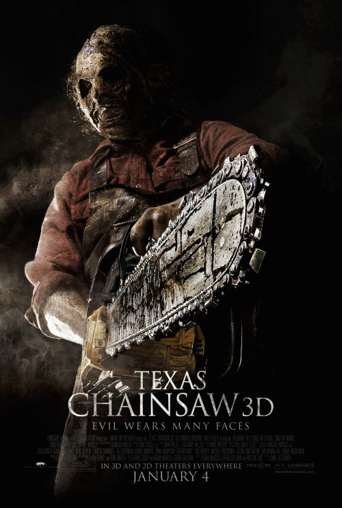'Texas Chainsaw 3D' Motion Poster (Photo: Lionsgate)