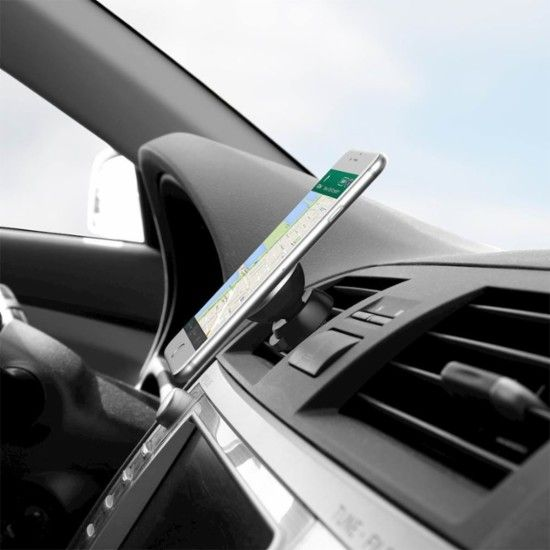 iOttie - iTap Magnetic Car Vent Mount Holder for for Select Cell Phones - Black - AlternateView13 Zoom