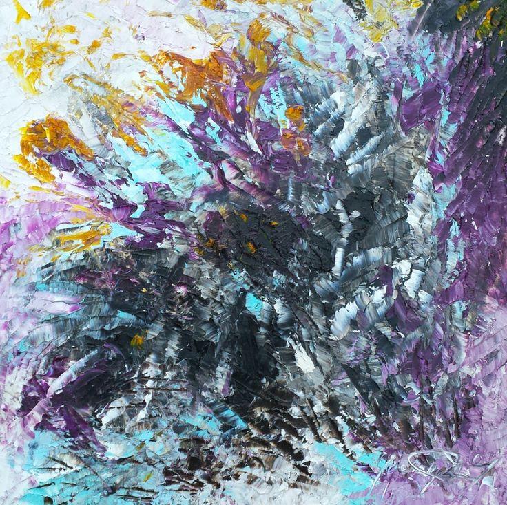Vita est oil on canvas 50 x 50
