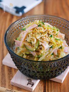 味がしみしみ♪『絶品♡もやしときゅうりの中華サラダ』