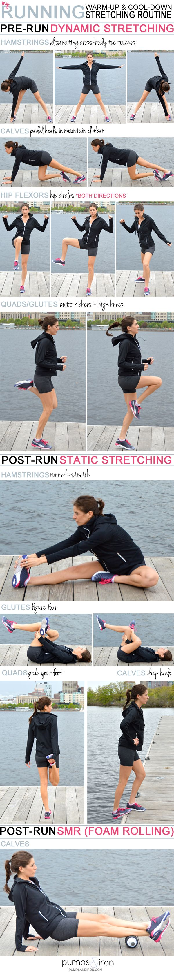 My Stretching Routine for Long Runs (Warm-Up & Cool-Down)