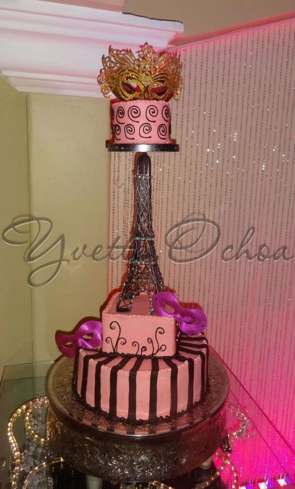 Pastel xv a os en mexicali b sweet 16 cake for Ornamentacion de 15 anos