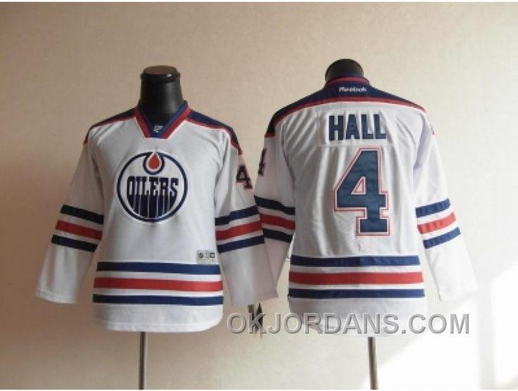 http://www.okjordans.com/youth-nhl-jerseys-edmonton-oilers-4-hall-white-kgrsw.html YOUTH NHL JERSEYS EDMONTON OILERS #4 HALL WHITE KGRSW Only $35.00 , Free Shipping!