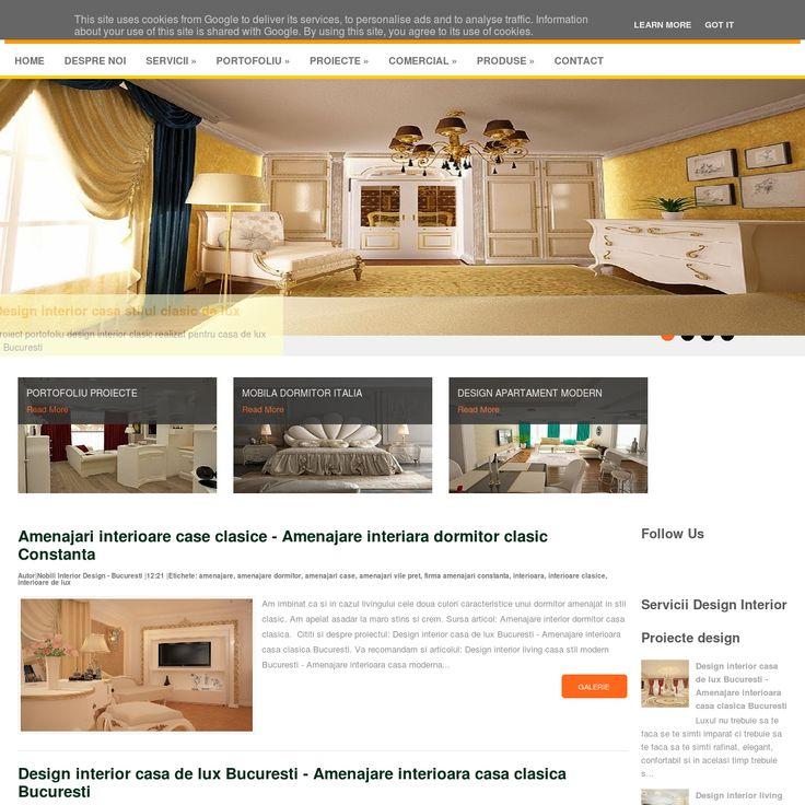 Design interior case moderne Bucuresti - Amenajari interioare clasice