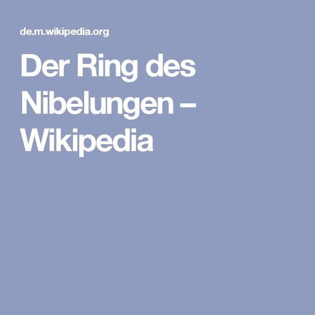 Der Ring des Nibelungen – Wikipedia
