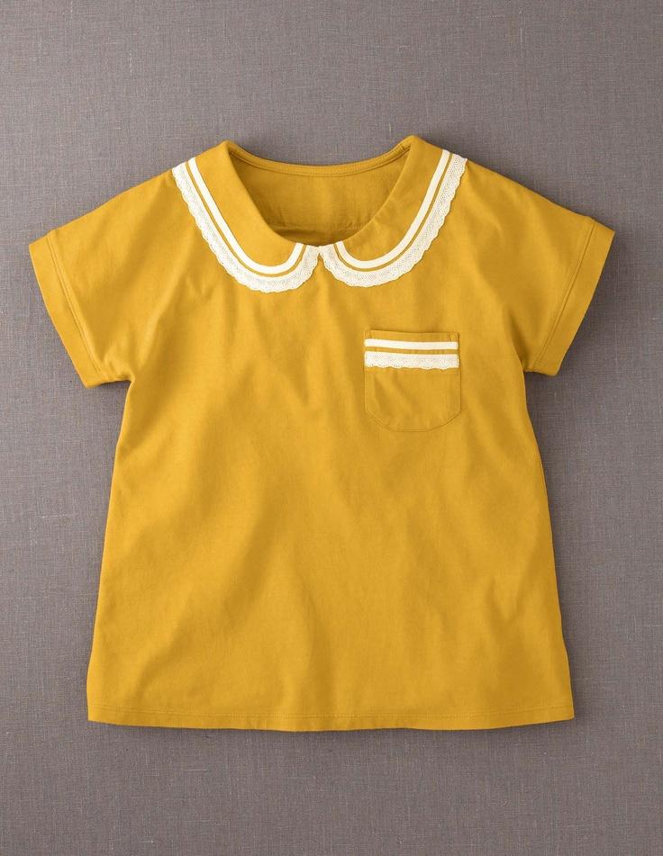 Pretty Collar T-shirt