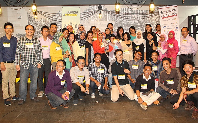 The Workshop's Crowd @ Entrepreneur Festival 2013