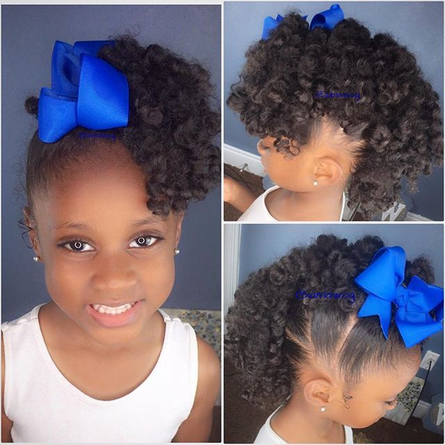 Terrific 1000 Images About Little Black Girls Hair On Pinterest Black Short Hairstyles For Black Women Fulllsitofus
