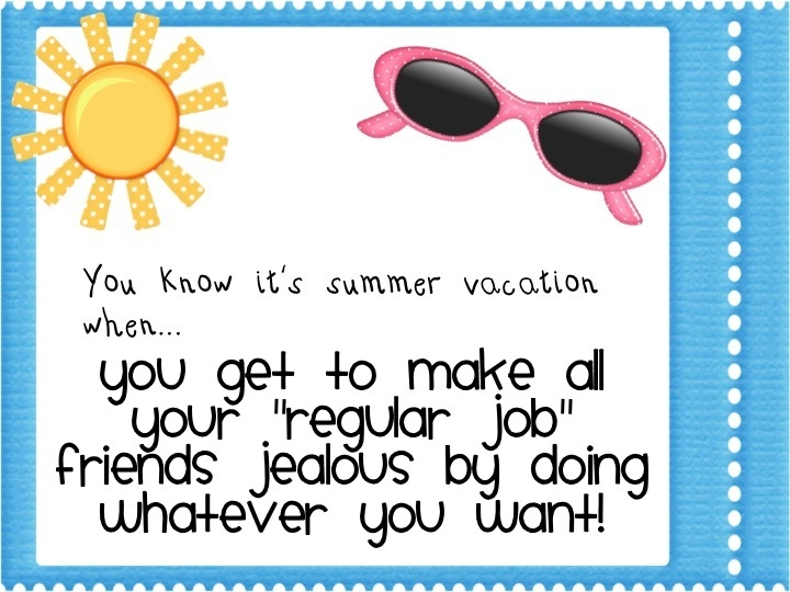 Im Linking Up With My Friend Mary From Kindergarten Lifestyle For A Fun Linky Party You Know Its Summer Vacation When