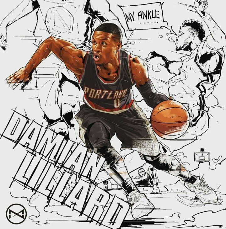 Allen Iverson Wallpaper Quote Damian Lillard Basketball Art Nba 선수 농구 선수
