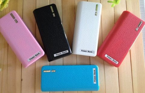 Power Bank : Large Capacity External Battery 12000mAh for all Smart phone + retail package + 4 connectors