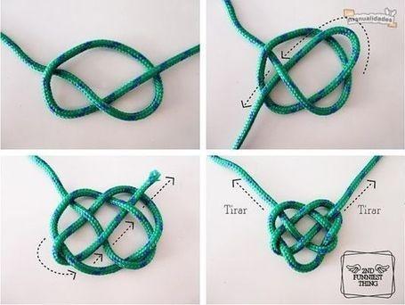 como hacer nudo celta (corazon celta): color de la temporada otoño invierno 2013!