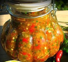 Recipe for THE HIRSHON BAJAN HOT SAUCE