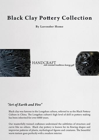 Lavender Home Black Clay Pottery Catalogue