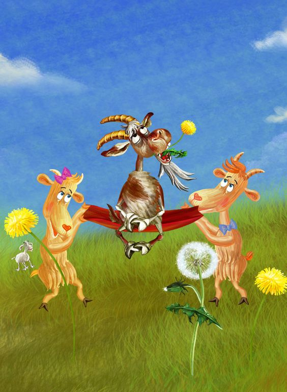brothers decided that they were tired of eating clover. #Three #Billy #Goats #Gruff  #PonyApps #Fairytale  http://www.amazon.com/Three-Billy-Goats-Gruff-Read/dp/B00YBCVINQ/ref=sr_1_2?s=mobile-apps&ie=UTF8&qid=1435421773&sr=1-2