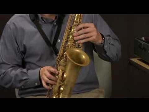 how to play g major on alto saxophone
