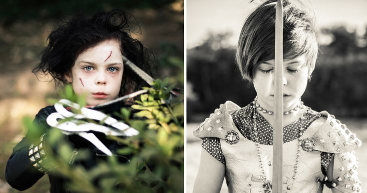 Meet Alice Lewis, an aspiring nine-year-old actress and model. She enjoys cosplaying and having her pictures taken by her photographer mother, Kelly Lewis.