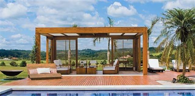 Deck de madeira, Pergolado de Madeira, Fachadas de madeira, Painel de madeira em Porto Alegre RS
