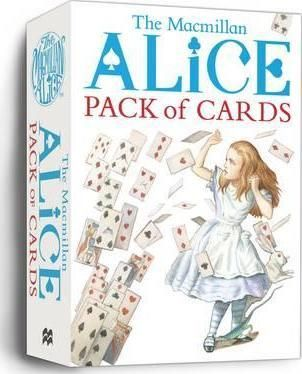 Macmillan Alice Pack of Cards - an absolute steal! This fabulous pack of fifty-two large size Alice in Wonderland-themed playing cards, have gorgeous coloured iconic images, drawn by Sir John Tenniel.