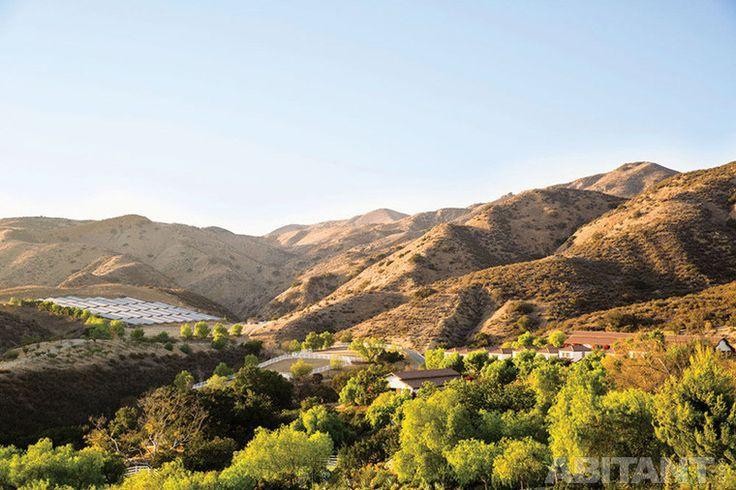 """Ранчо """"Гнездо калибри"""". Калифорнийская усадьба в неоренессансном испанском стиле."""