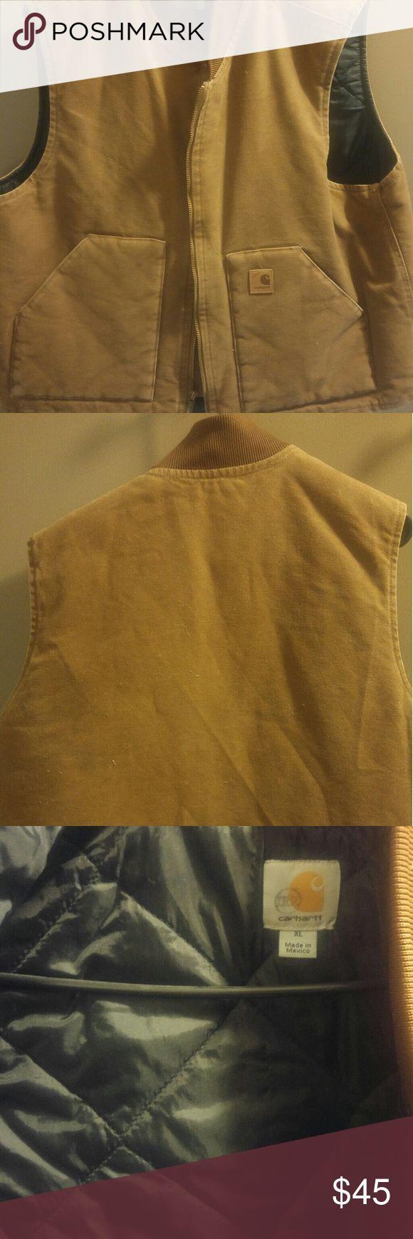 Men's Carhartt vest flash SALE Worn  Lots of life left Great vest Carhartt Jackets & Coats