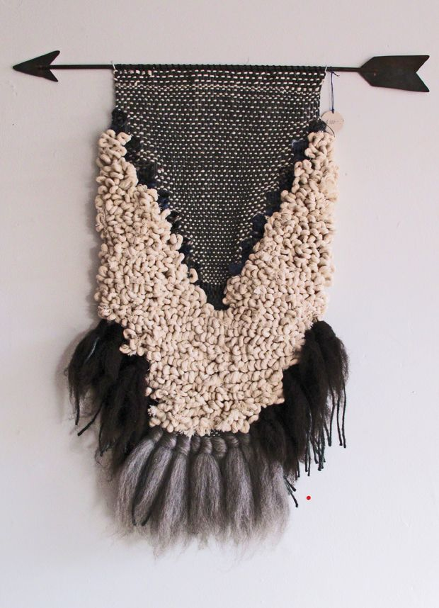 All Roads handwoven wall hanging, photographed by Justine Blakeney at The Platform Experiment
