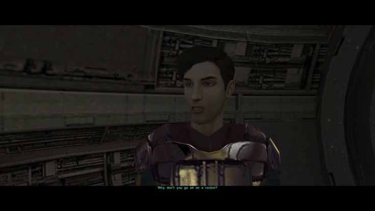 When someone says the KOTOR games aren't canon anymore