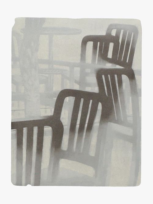 MOMENT '15-12  安井良尚  Yoshihisa Yasui <Lithography(1 stone plate) 68,5×53,0cm Izumi paper 2015>
