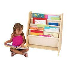 All Natural Sling Bookshelf