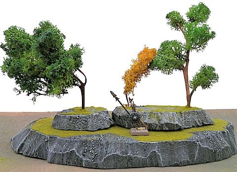 A great site all about how to make scenery for wargames  | Wargaming