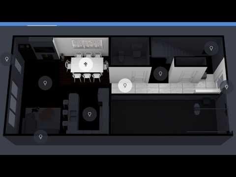 6) HomeAssistant Dashboard Floorplan - YouTube | Smart hjem
