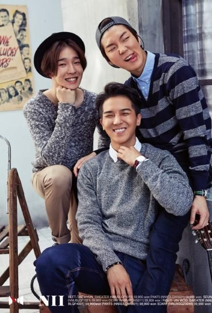 Nam Taehyun, Song Minho, Lee Seunghoon (YG Winner for NII Fall 2014)