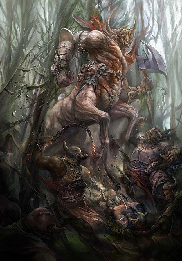 Demon Centaur