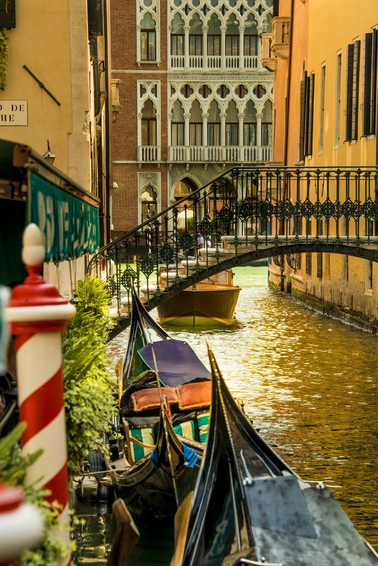 Venice - Gondola parking