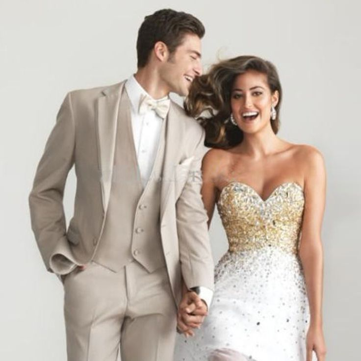 check discount folobe terno masculino custom made beige men slim fit suits tuxedos groom wedding suits #wedding #linens