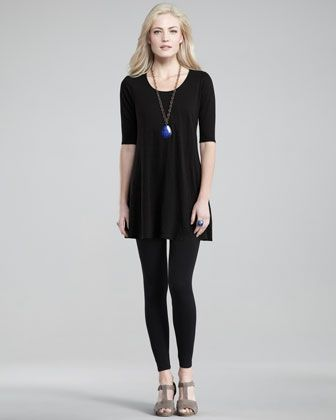 I want this top, or the viscose version of it. But it appears it's flown off the racks like, um, little black tunics.