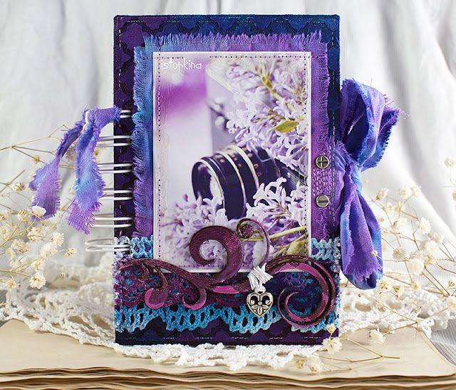 Purple notebook