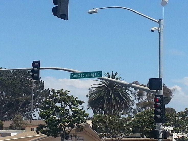 Carlsbad Village in California