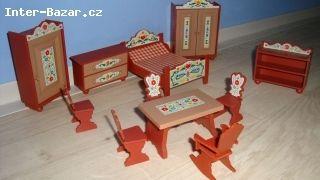 Starý nábytek pro panenky  - obrázek 3