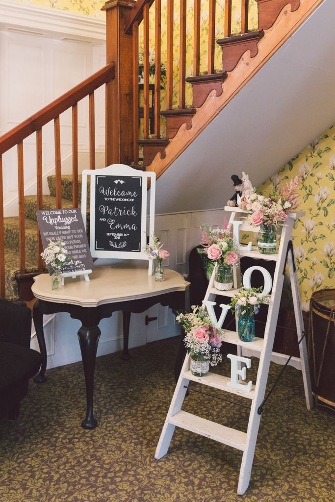 For us there's nothing better than a bright, breezy and beautiful wedding which is why we love this afternoon's pretty celebrations at Woodhill Hall so much