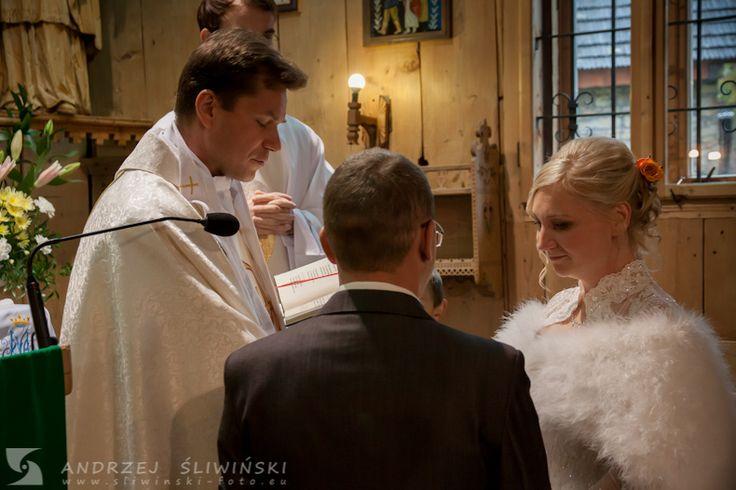 Wedding ceremony. / Ceremonia ślubna.